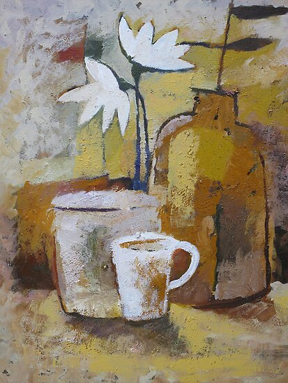 Coffee and Flowers by Lutz Baar
