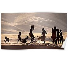 Himba Children | Namibia Poster