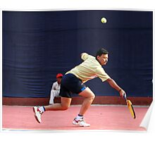 A player. Poster
