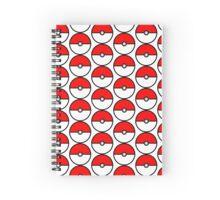 Pokeball Spiral Notebook