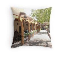 Albuquerque Streetscape. Throw Pillow