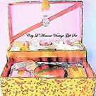 Coty L'Aimant Vintage Gift Set by ANNETTE HAGGER