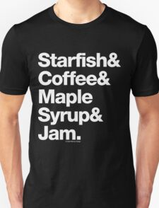 Starfish Coffee Helvetica Ampersand Prince T-Shirt & More T-Shirt