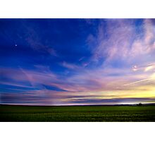 the sky Photographic Print