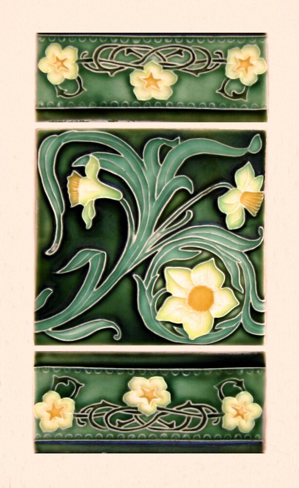 Ceramic Daffodils by Christopher Biggs