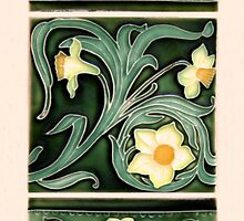Ceramic Daffodils by Christopher Biggs