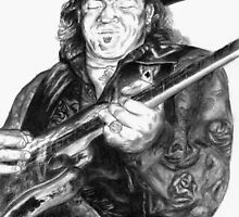 Stevie Ray Vaughn by Kathleen Kelly-Thompson
