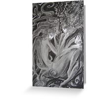 Storm Ripple Calm Greeting Card