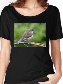 My Mate Is More Handome  - Female Bellbird - NZ Women's Relaxed Fit T-Shirt