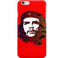 Che Guevara Revolution iPhone Case/Skin