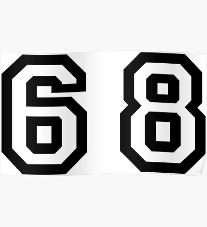 Number Sixty Eight Poster