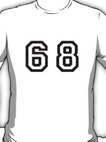 Number Sixty Eight T-Shirt