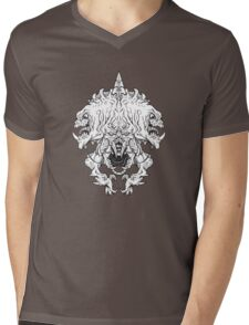 Helm of Doom - vector style Mens V-Neck T-Shirt