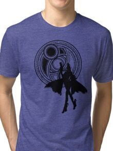 Umbra Witch Seal Bayonetta Silhouette Tri-blend T-Shirt