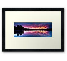 Wagardu Lake. Framed Print