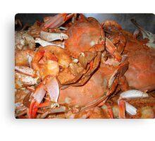 """""""Hot Crabs"""" Canvas Print"""