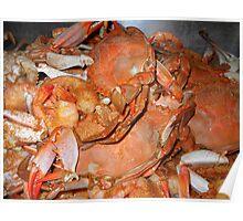 """Hot Crabs"" Poster"