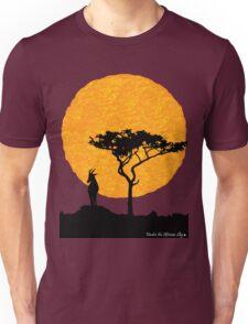 topi sunset silhouette Unisex T-Shirt