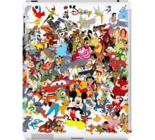 Disney Collage iPad Case/Skin