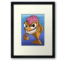 Mohawk Fish Framed Print