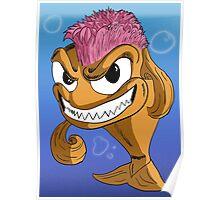 Mohawk Fish Poster