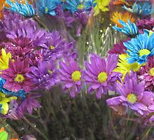 Flower Mix by Linda Miller Gesualdo