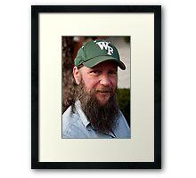 WF Cap Framed Print