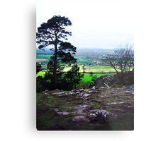 Haughmond Hill Metal Print