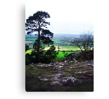 Haughmond Hill Canvas Print