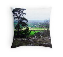 Haughmond Hill Throw Pillow