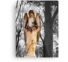 Cemetary Angel Metal Print