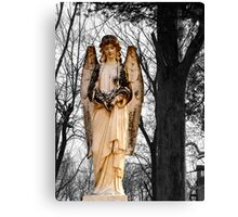 Cemetary Angel Canvas Print