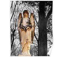 Cemetary Angel Poster