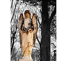 Cemetary Angel Photographic Print