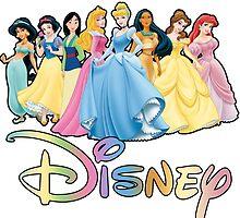 Disney Princesses by Skootaloo