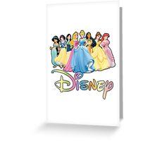 Disney Princesses Greeting Card