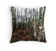 Woodland - Haughmond Hill Throw Pillow