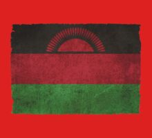 Old and Worn Distressed Vintage Flag of Malawi Kids Clothes