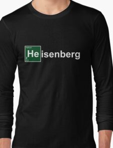 Breaking Bad Heisenburg Long Sleeve T-Shirt