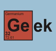 Geek Chemistry Kids Clothes
