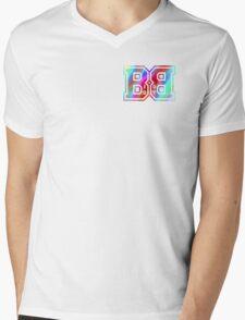 Big Boy BB Rainbow Logo  Mens V-Neck T-Shirt