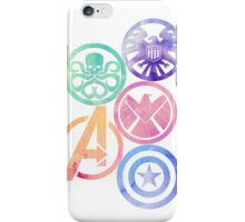 Marvel Insignias iPhone Case/Skin