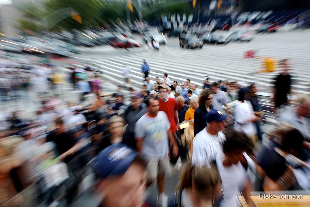 Full House at Yankee Stadium by Blake Johnson