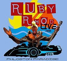 Ruby Rhod LIVE! by shinkenguard