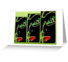 CollageMonAmour(TRIS) Greeting Card
