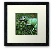 Jurassic Yard  Framed Print