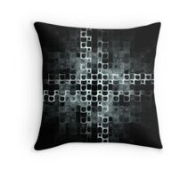 Vows of Silence Throw Pillow