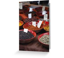 Spice Of Life  Greeting Card