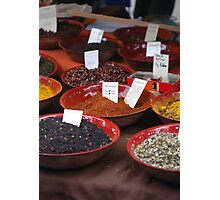 Spice Of Life  Photographic Print