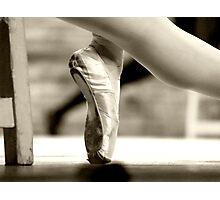 Ballerina foot Photographic Print
